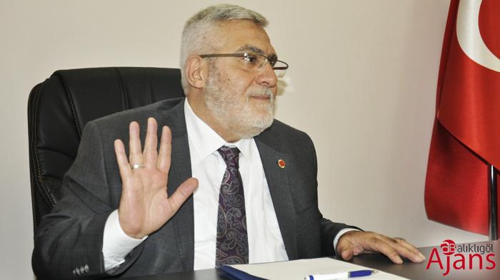 Saadet Partisi Şanlıurfa İl Başkanı Niyazi Yanmaz