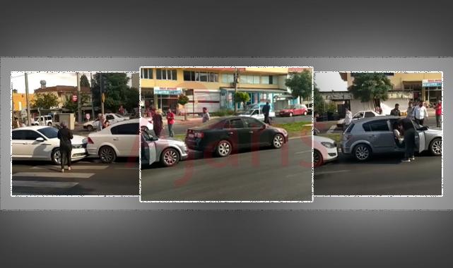 Şanlıurfa'da zincirleme kaza: 6 otomobil çarpıştı