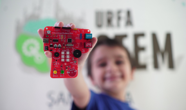Şanlıurfa STEM Robotik Kodlama kiti üretti
