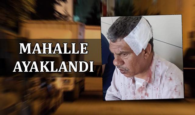 Ceylanpınar'da oğlunu kurtarmaya çalışan baba saldırıya uğradı