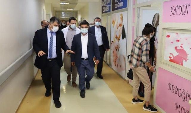 İl Sağlık Müdürü Gülüm'den Viranşehir'de denetim