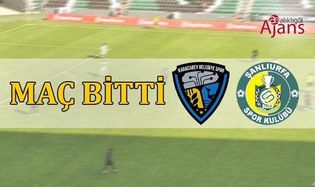 Karacabey Belediyespor 1-2 Şanlıurfaspor