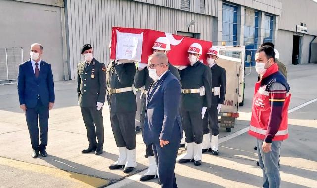 Kıbrıs'ta hayatını kaybeden askerin cenazesi Urfa'ya getirildi