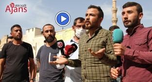 Şanlıurfa'da kaçan firmanın işçileri eylem yaptı