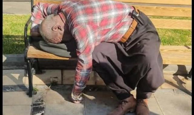 Siverek'te yürek burkan ölüm! Bankta ölü bulundu